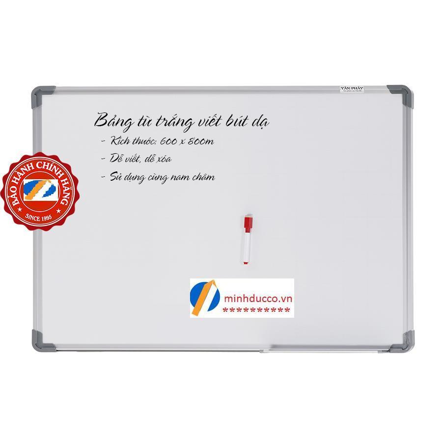 Bảng từ trắng viết bút dạ 60x80cm (TH10)