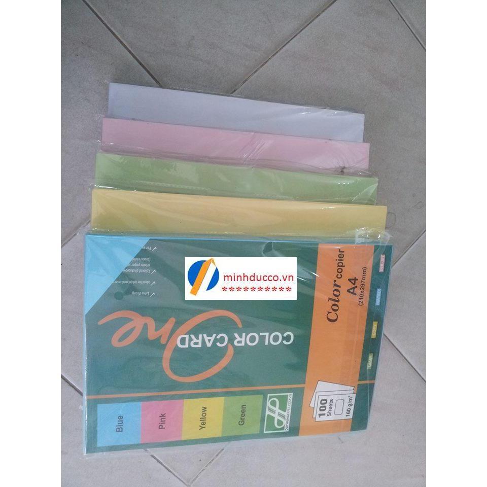 Bìa màu ngoại A4 (các màu)