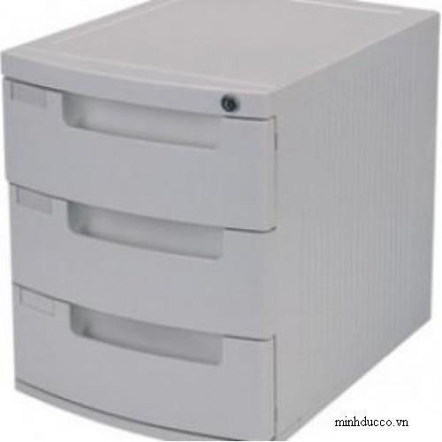 Tủ đựng tài liệu 3 ngăn Deli 9793