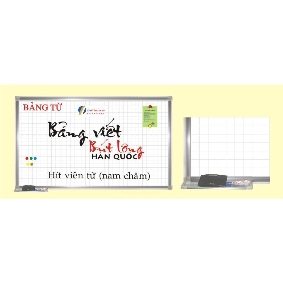 Bảng từ trắng viết bút dạ 120x120cm (TH19)