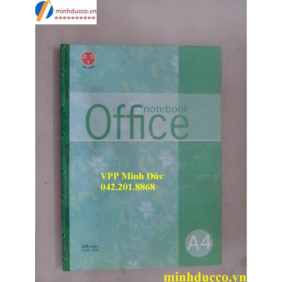 Sổ bìa cứng Office A4-240tr