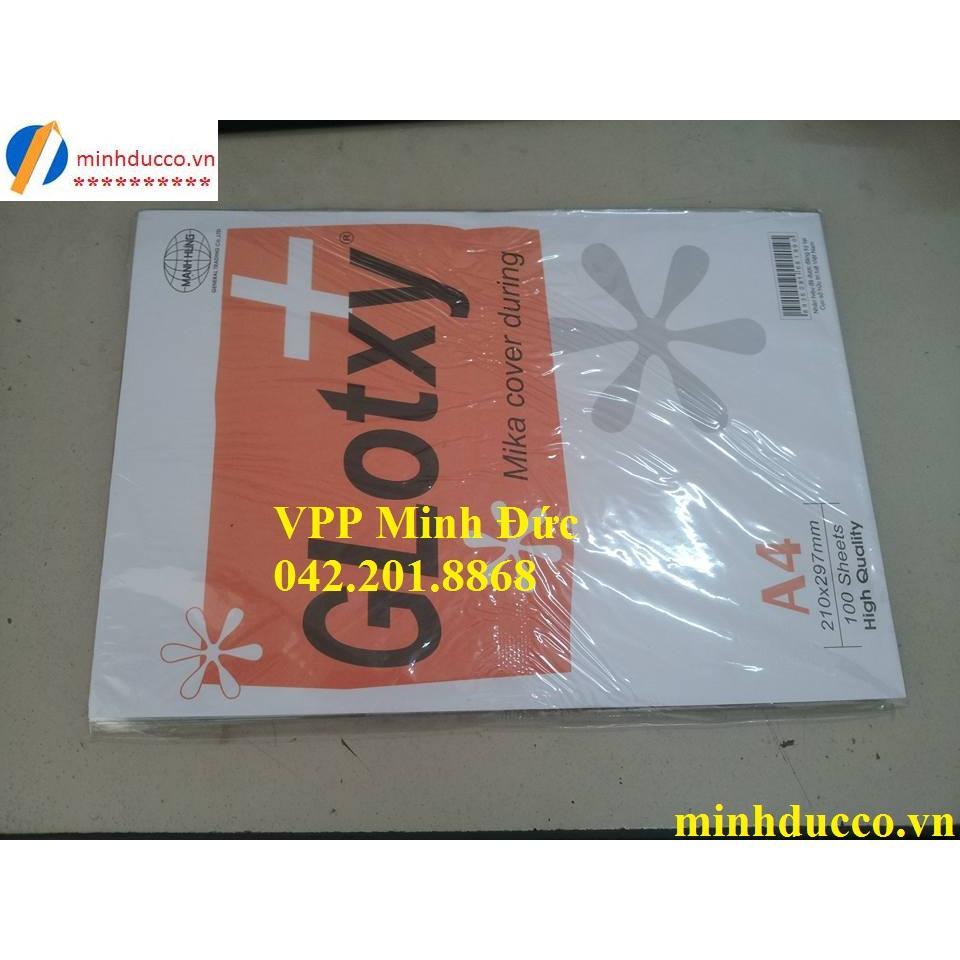 Bìa Mica A4 mỏng MH