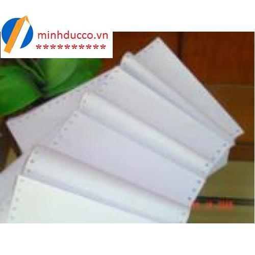 Giấy in liên tục 1 liên SUPER WHITE Khổ 210 (khổ A4)