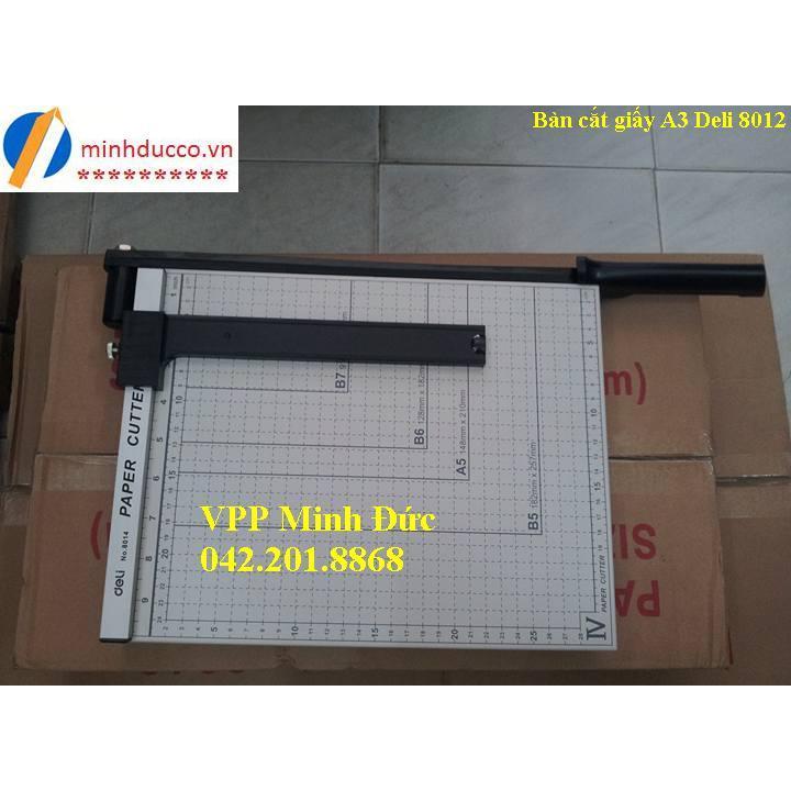 Bàn cắt giấy A4 Deli 8014