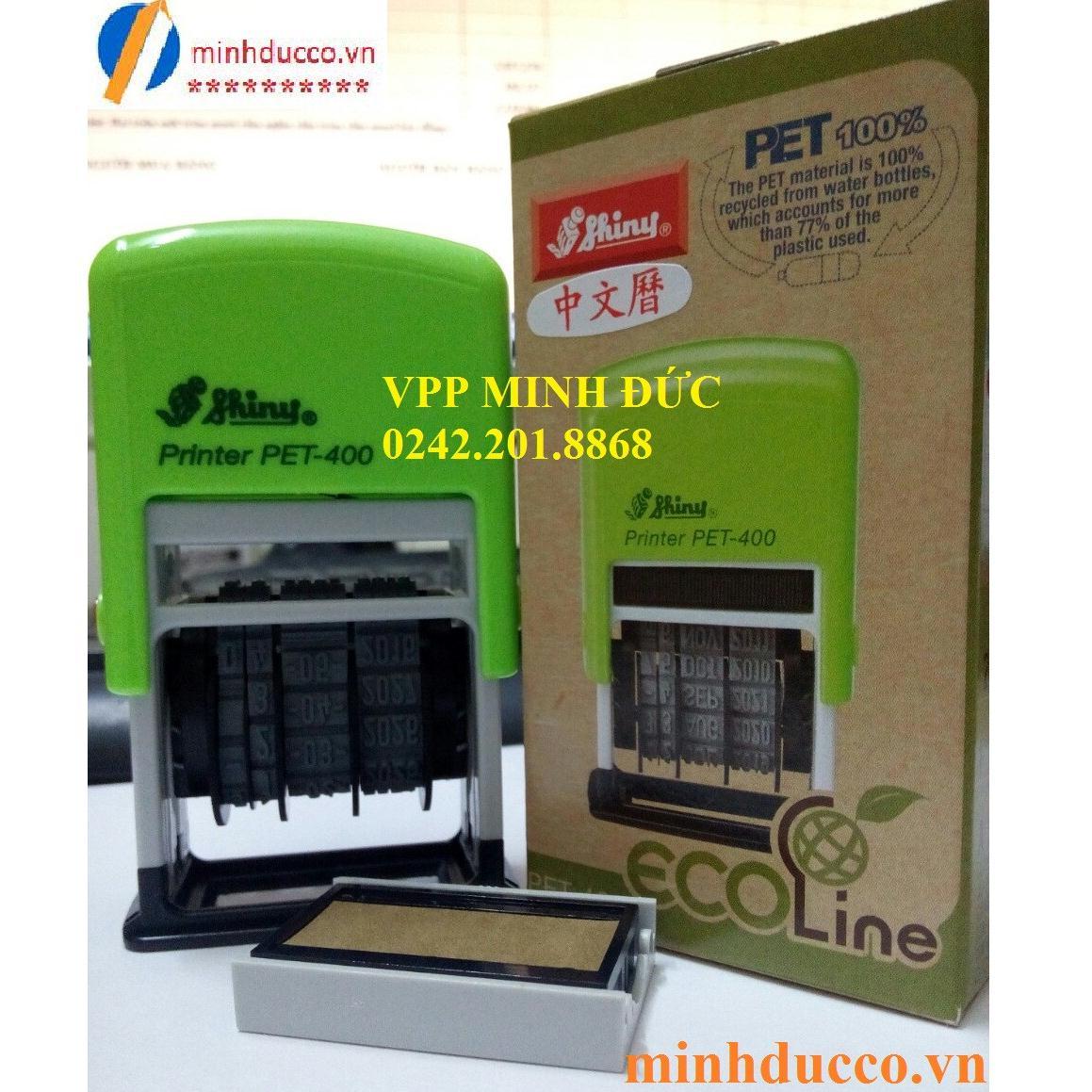 Dấu ngày tháng Shiny Mini Dater PET-400
