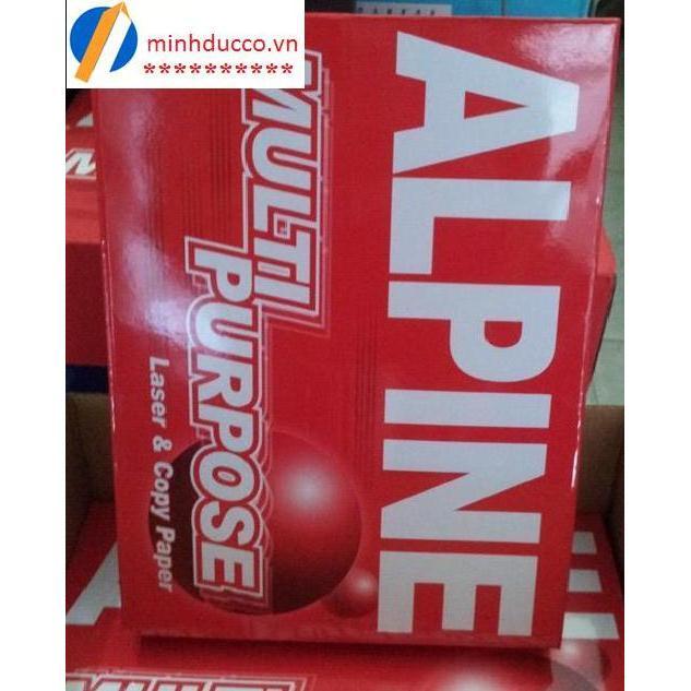 Giấy Alpine A4 70gsm