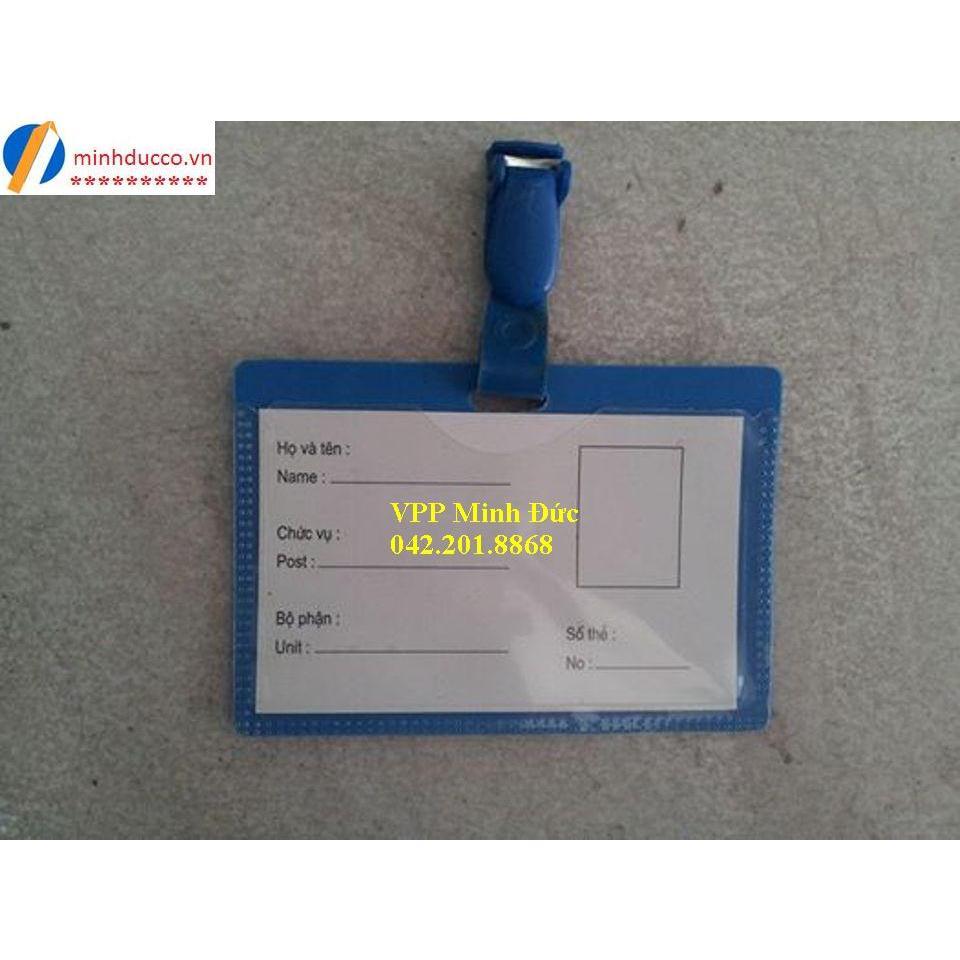 Thẻ nhân viên hyphen (thẻ kẹp)