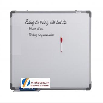 Bảng từ trắng viết bút dạ 80x120cm (TH10)