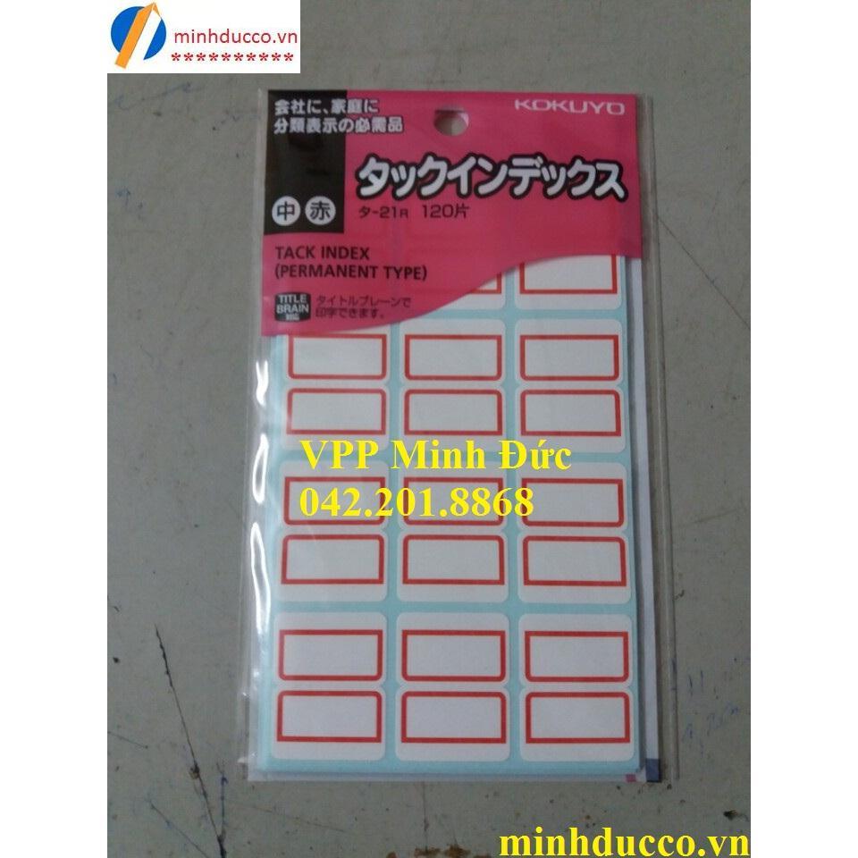 Giấy dán index Kokuyo T21