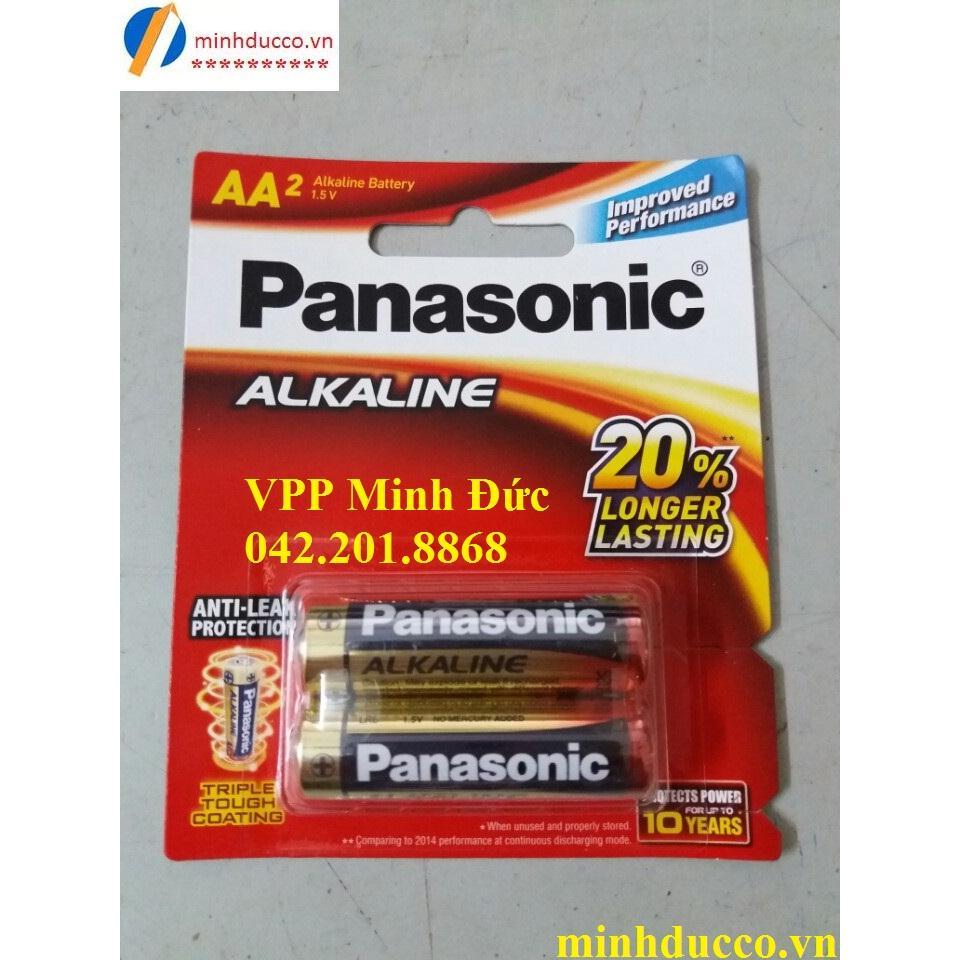 Pin Panasonic AA LR6T/2B (pin tiểu AA)