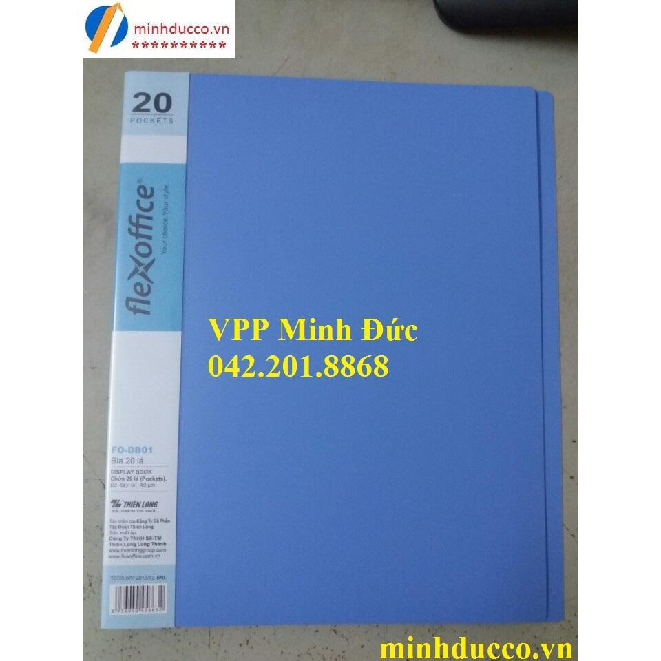 File 20 lá Thiên Long FO-DB02