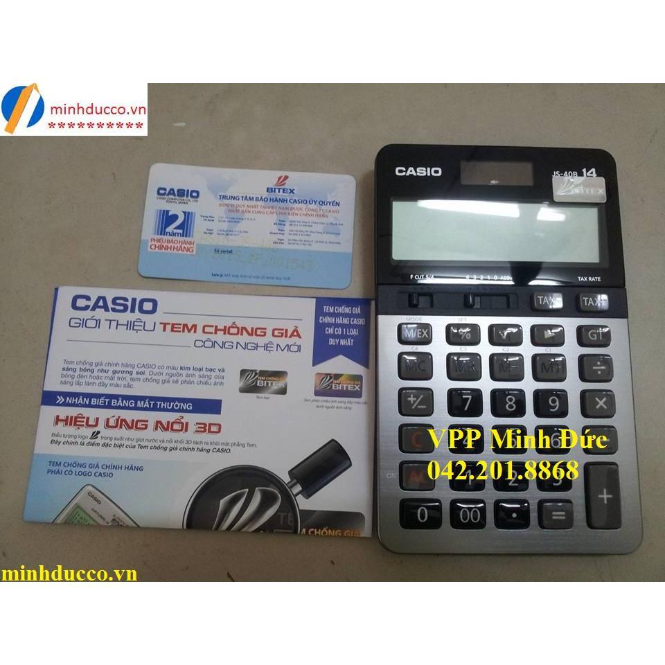Máy tính Casio JS-40B (BH 2 năm)