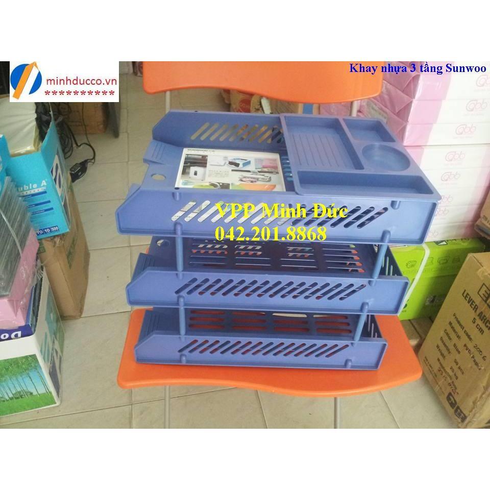 Khay nhựa 3 tầng Sunwoo
