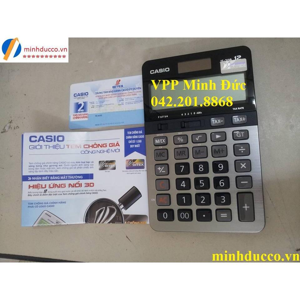 Máy tính Casio JS-20B (BH 2 năm)