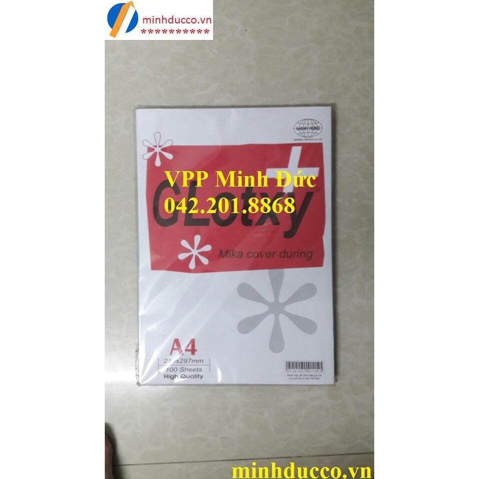 Bìa Mica A4 dày MH