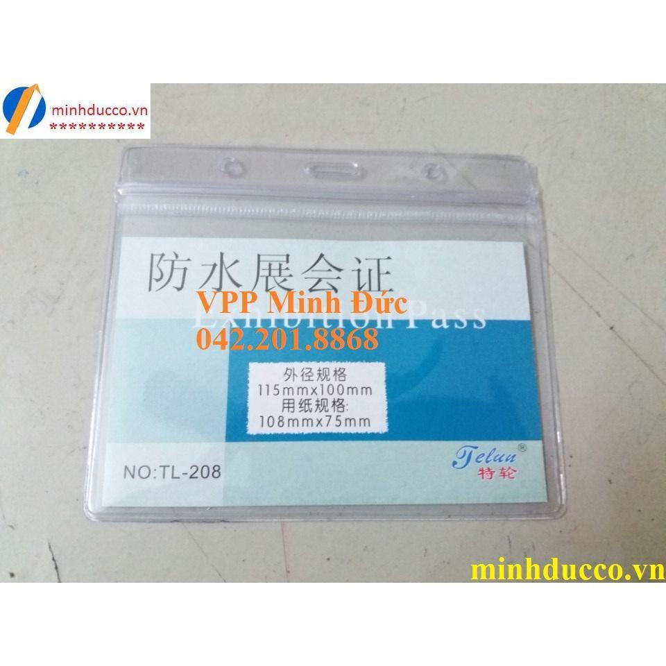 Thẻ nhựa ngang TL-208