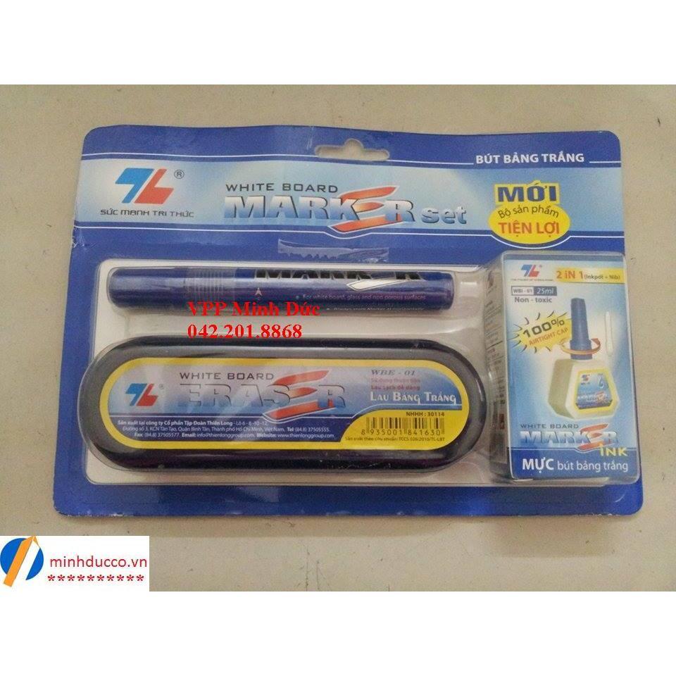 Bộ bút lông bảng WBS-01 Thiên Long