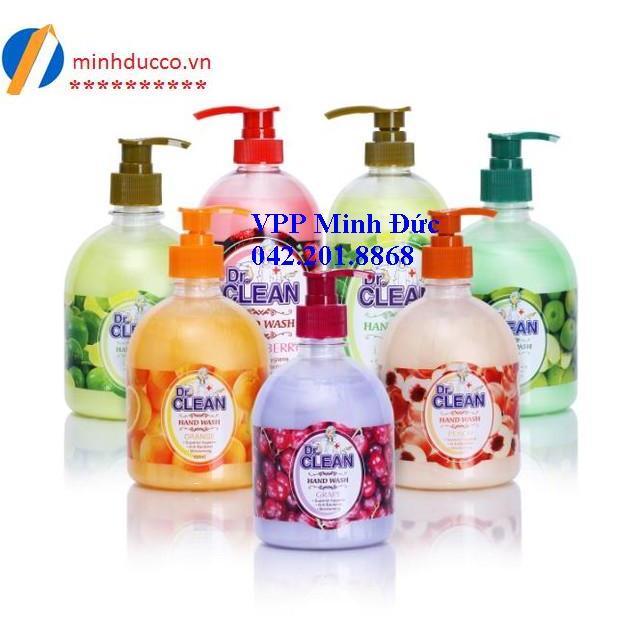 Nước rửa tay Dr.Clean 500ml
