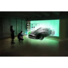 Màn chiếu 3D 100 inch