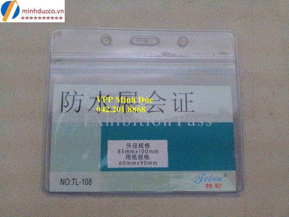 Thẻ nhựa ngang TL-108