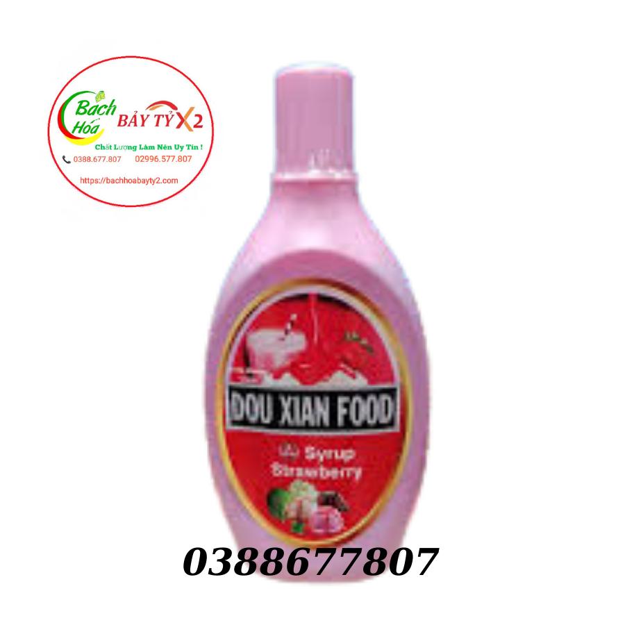 Xốt Dâu Dou Xian Chai 700gr