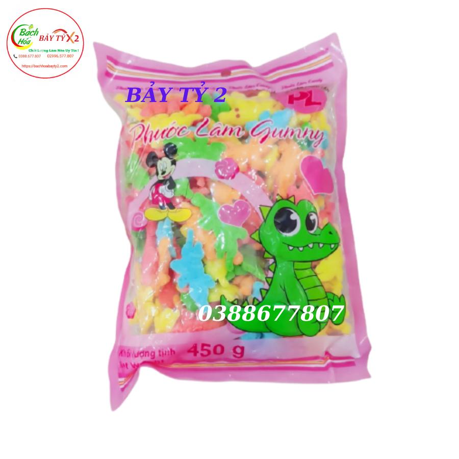 Kẹo Dẻo Cá Sấu Phước Lâm Gumny Gói 450gr