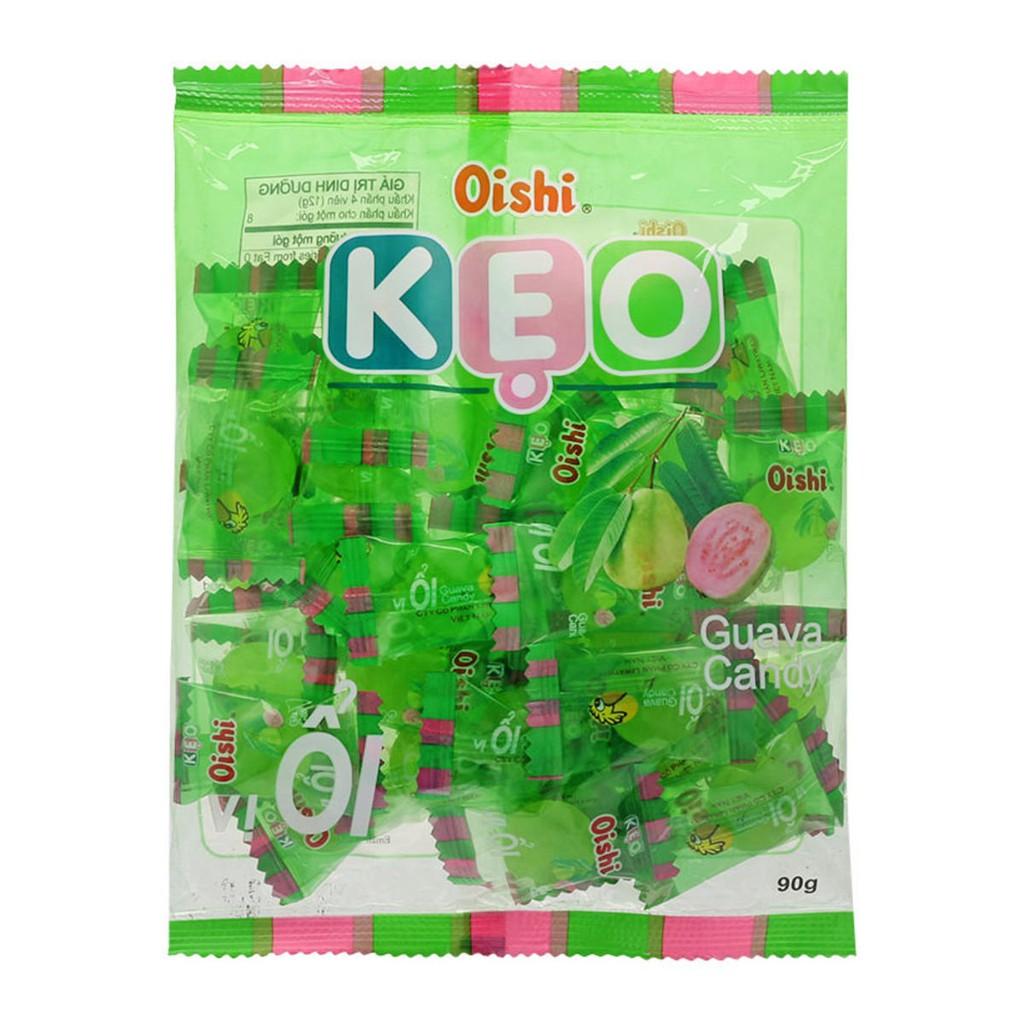 Kẹo Oishi Vị Ổi Gói 90gr