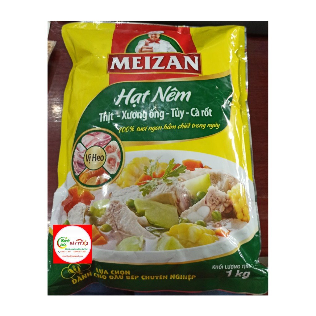 Hạt Nêm Meizan 1Kg/Gói