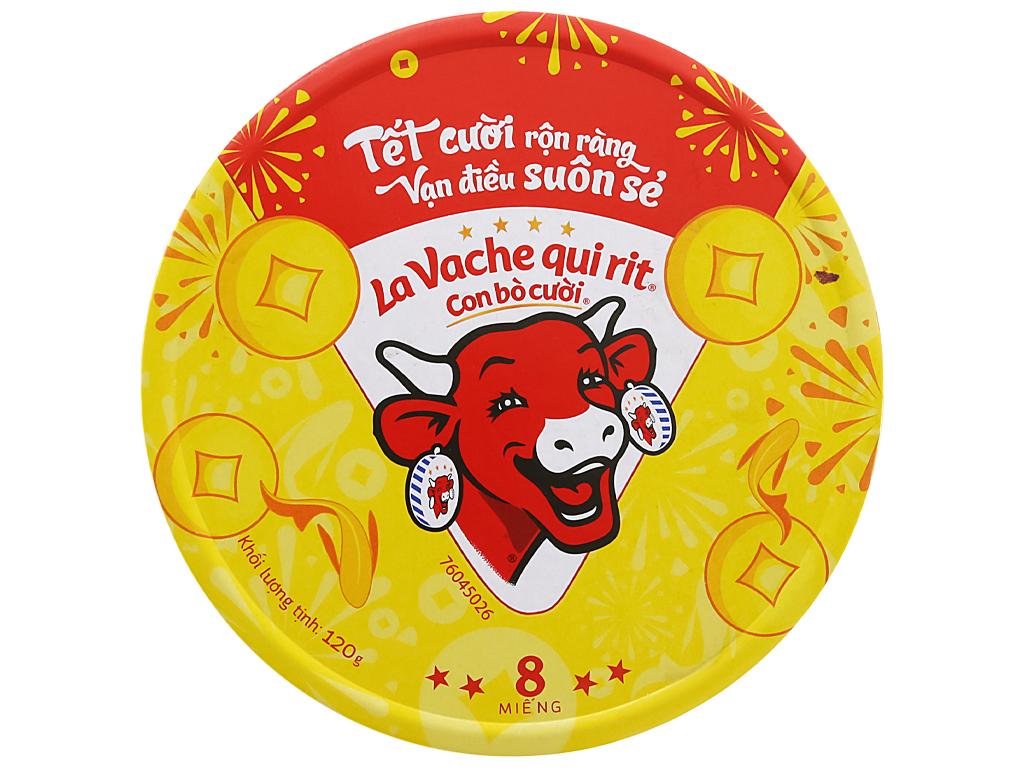 Hộp 8 Miếng x 15gr Phô Mai Lavachequirit Con Bò Cười