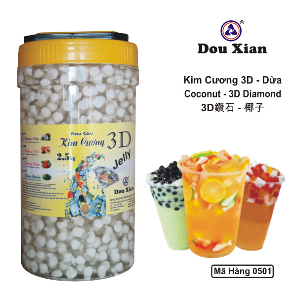 Kim Cương 3D Dừa