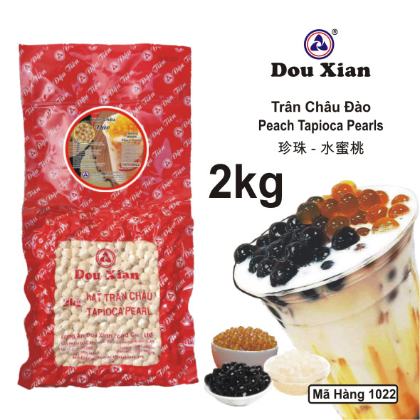 Trân Châu Hàng Huy Đào (Viên Trắng) 2kg Túi Đỏ