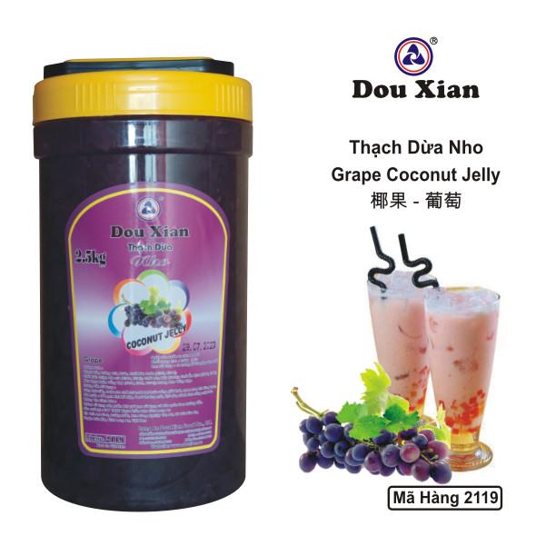 Thạch Dừa Nho