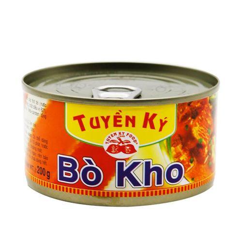 Bò Kho Haha Tuyền Ký Hộp Dẹp 195gr