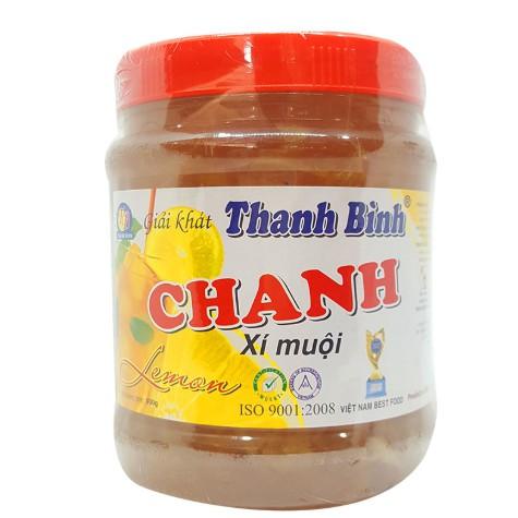 Chanh Xí Muội Thanh Bình Hủ 900gr