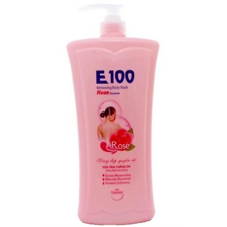 Sữa Tắm E100 Hồng Chai 1.2 Lít