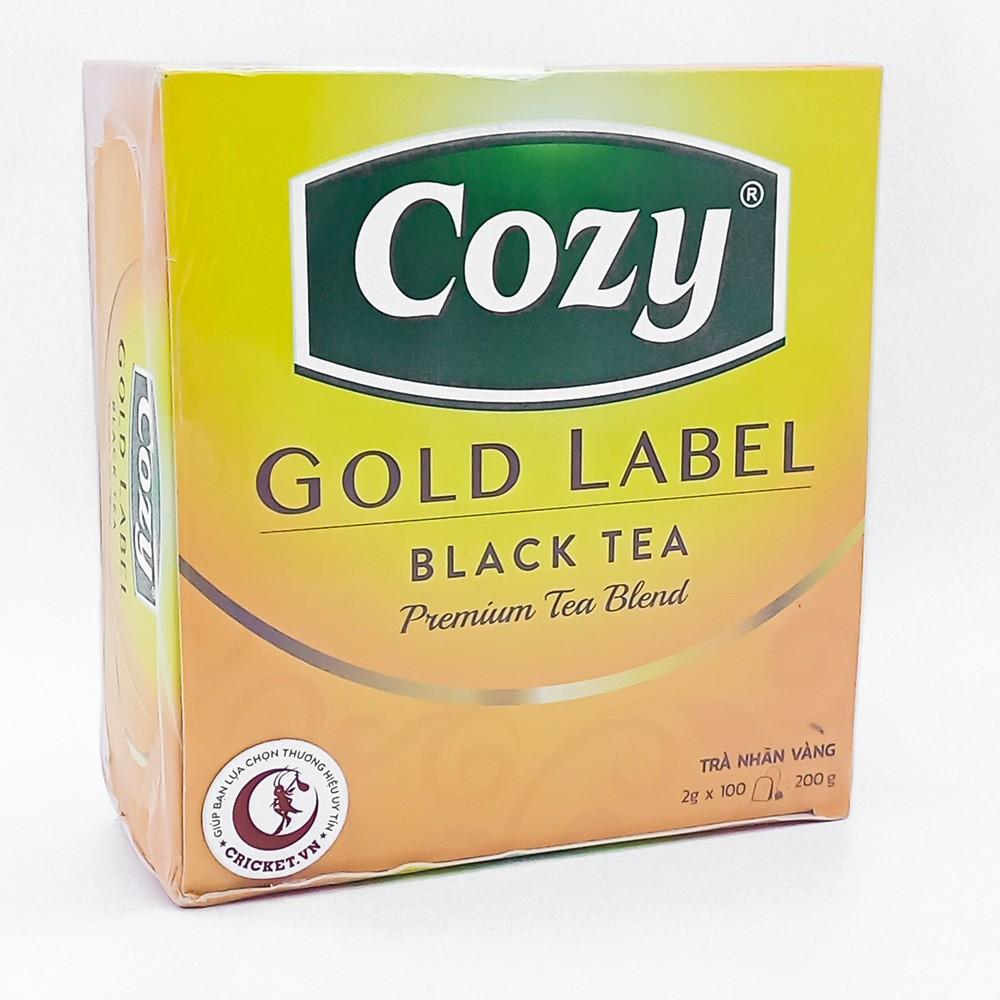 Trà Nhãn Vàng Cozy Gold Label Hộp 200gr