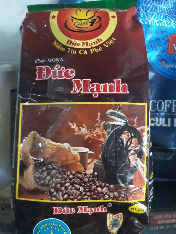Cafe Moka Đức Mạnh 500gr