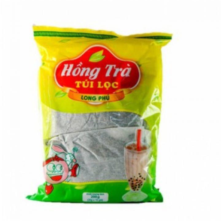 Hồng Trà Túi Lọc Long Phú 200gr (20gr x 10 Gói)