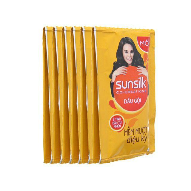 Dầu Gội Sunsilk Vàng 12 Gói/Dây