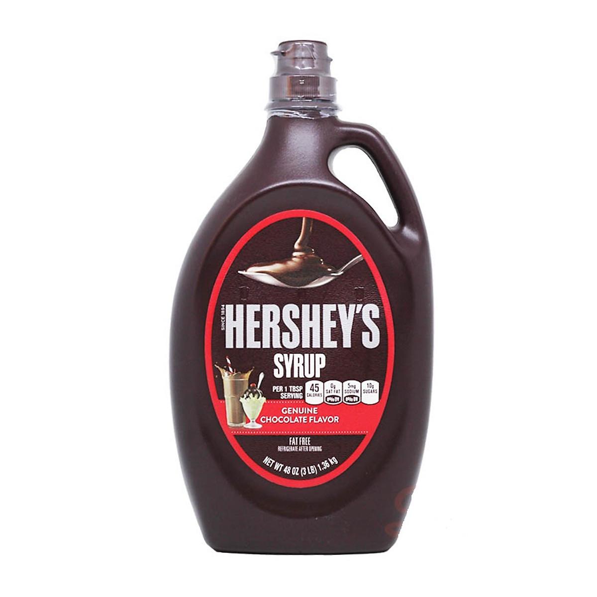 Sirô Hershey's Syrup Chocolate 1.36kg/Can