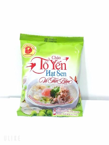 Cháo Tổ Yến Hạt Sen Vị Thịt Bằm Nutrition 50gr
