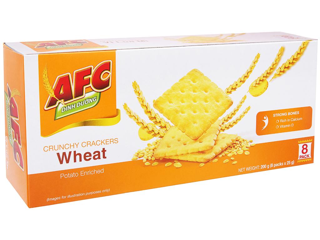 Bánh AFC Dinh Dưỡng Vị Lúa Mì Hộp 200gr