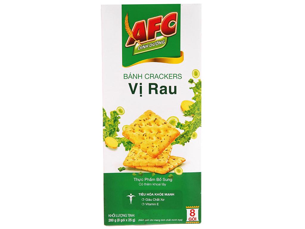 Bánh AFC Ding Dưỡng Vị Rau Hộp 200gr