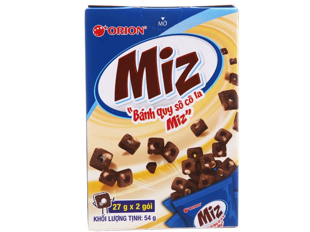 Bánh Quy Socola Miz Hộp 54gr
