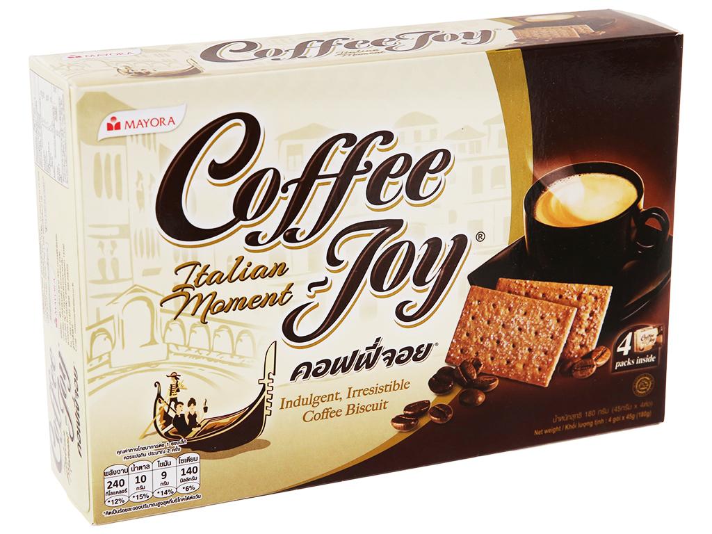 Bánh Quy Vị Cà Phê Coffee Joy Hộp 180gr