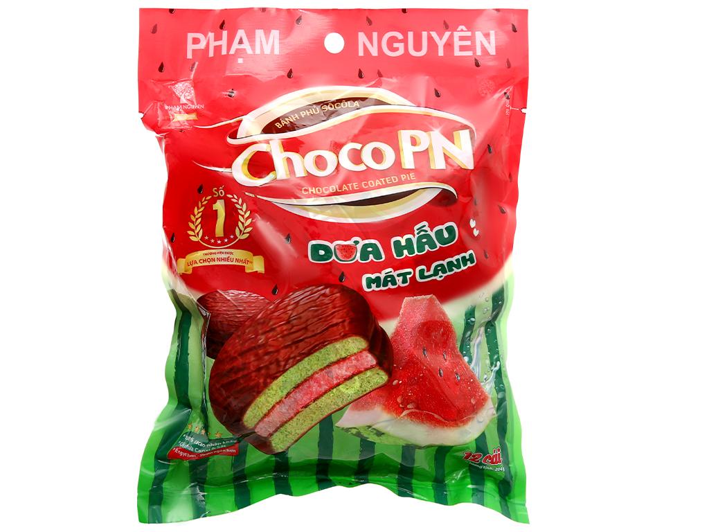Bánh Phủ Sôcôla Choco PN Hương Dưa Hấu 12 Gói/Túi