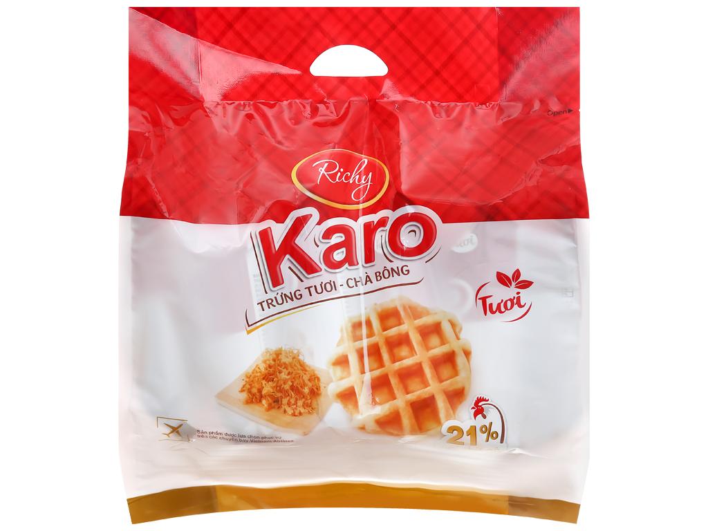 Bánh Trứng Tươi - Chà Bông Karo Túi 156gr
