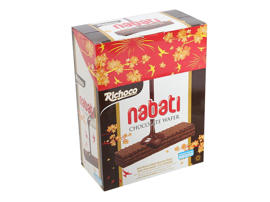 Bánh Xốp Nabati Vị Socola Hộp 320gr