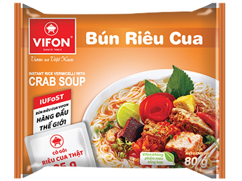 Bún Rêu Cua Vifon Gói 80gr