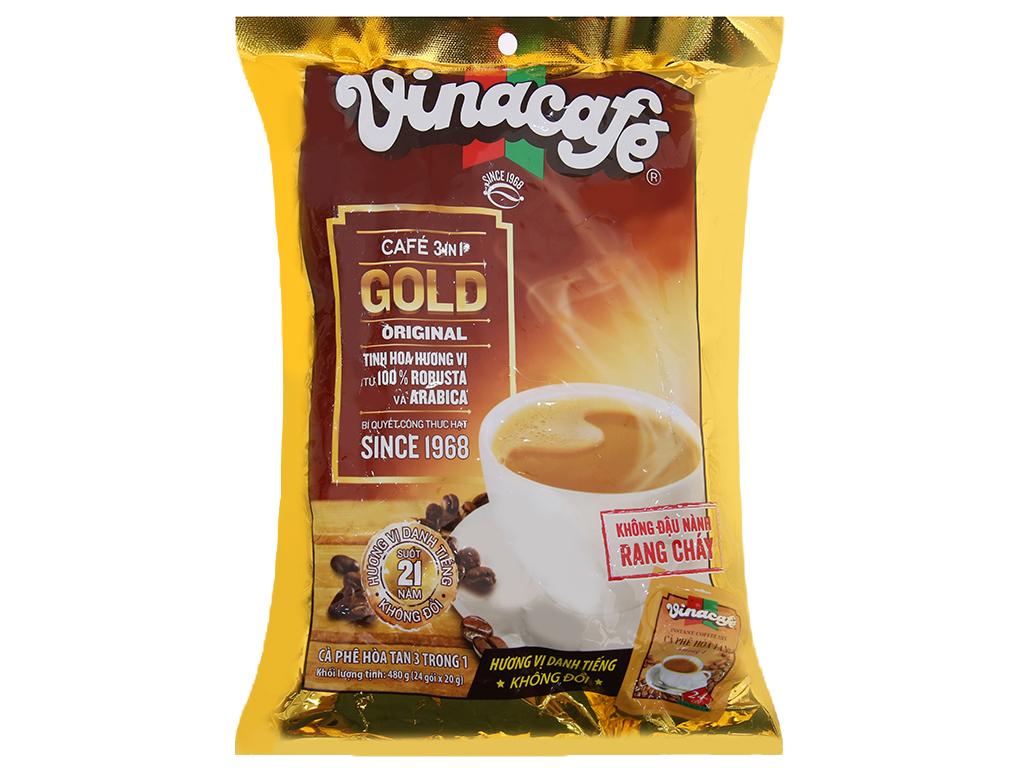 Cà Phê Sữa Vinacafe Gói 480gr